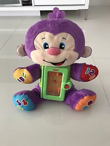 Fisher Price Laugh & Learn Apptivity Monkey Interactive Learning Sinagra Wanneroo Area Preview