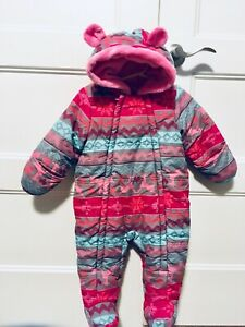 Girl snowsuit 12m