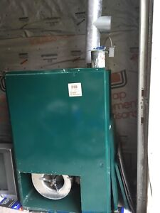 Newer Oil Furnace and chimney