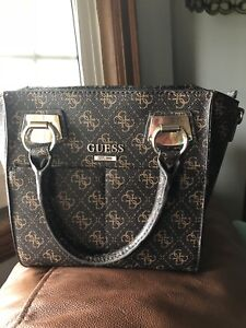 Brand new real leather Guess bag