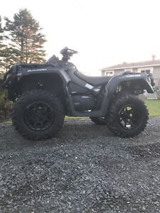 2018 can am outlander 1000r xtp price reduced