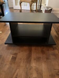 Small tv stand with shelf