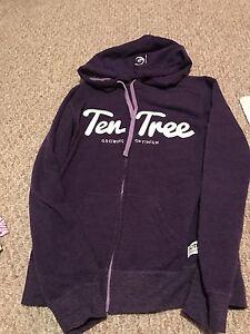 Ten Tree zip up hoodie size Small
