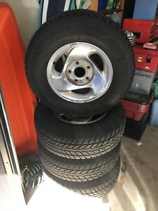 WINTER TIRES 245/70 R16