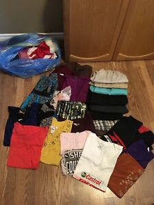 Large bag of womens clothing