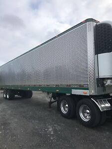 Stainless steel trailer 48 ft
