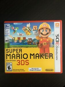Almost New - Super Mario Maker 3DS
