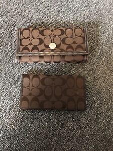 Authentic Coach Wallet and Cheque Book