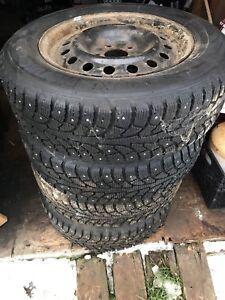 Hankook winter i Pike rs v tires & rims