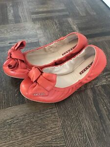 Prada shoes 38.5