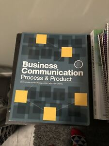 BUSINESS COMMUNICATION PROCESS AND PRODUCT 6th CANADIAN EDITION