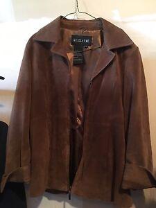 Medium Suede Jacket