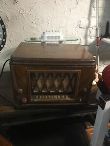 Electrohome Radio-Phonograph dated 1951