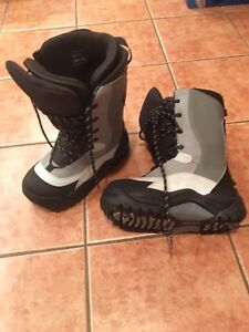 Ski-doo ladies snowmobile boots, size 8