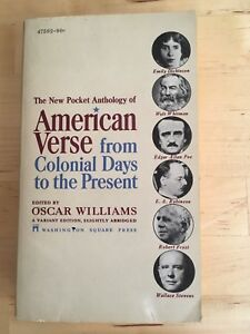 American Verse (from Colonial Days to the Présent)