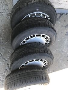 Jante roue Mercedes mags tires  195-65-15
