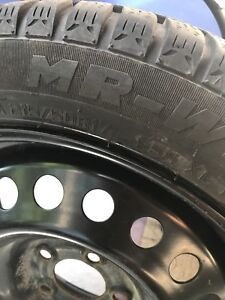 Selling winter tires with rims