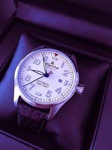 Alpina Startimer automatic Pilot watch flieger