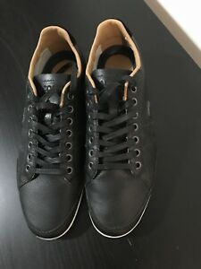 Men's black sneakers Lacoste