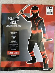 "Hallowe'en ""Shadow Ninja"" kids costume"