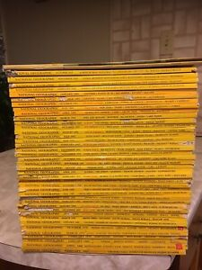 National Geographic magazines in good condition
