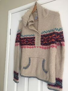 Just jeans hoodie pullover jumper knitwear size Large Park Ridge South Logan Area Preview