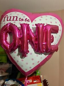 1st Birthday Balloon (Fun at ONE)