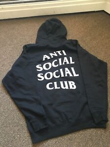 Authentic Anti Social Social Club Mind Games Hood FS/T