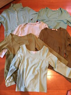 6 Country Road Cotton Tops XS