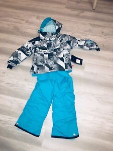 Snowsuit snow pants and jacket Boys/Girls size 3,4,5,6