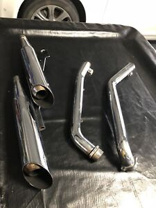 Vance and Hines exhaust system