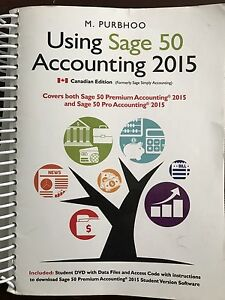 Sage 50 Accounting 2015 -Conestoga College Business Textbook