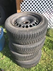 205/55 R16  Michelin X-Ice 3 Winter Tires & rims