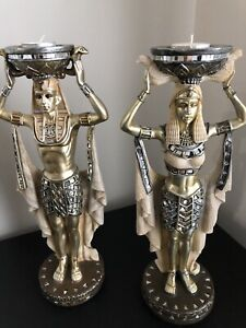 Egyptian statue/candle holders Wattle Grove Liverpool Area Preview