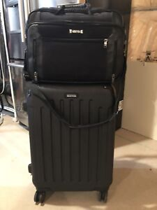 "Kenneth Cole Luggage 26"" Spinner with Laptop Bag"
