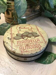 ANTIQUE ESSKAY MANDELLA ALMONDS TIN
