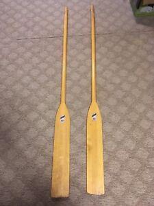 Pair of 6.5 long oars