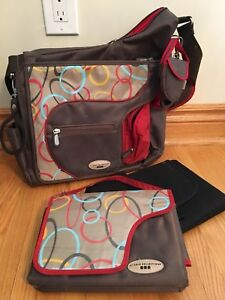 JJ Cole Collections System Diaper Bag, Brown