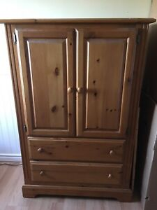Armoire/ Dresser/ tv unit. $100 solid Pine. Great shape. SOLD