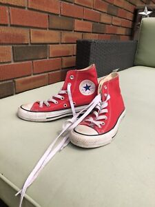 Size 6.5 women's or 4.5 men's converse all stars