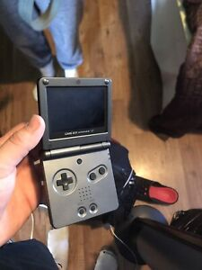 Gameboy advance sp with some games