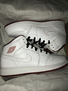 Red and White Jordan 1
