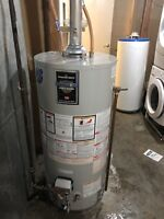 Water heater and furnace change outs!