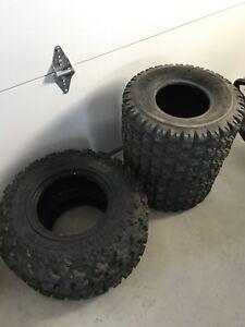 Max is Razr ATV tires