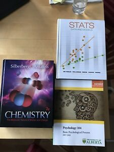 Stats Data and Models, Psych 104, Chem 101 7e