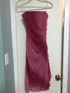 Strapless party dress size XS $20