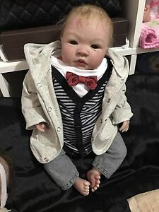SOLD Reborn Baby Boy Lifelike doll Docklands Melbourne City Preview