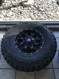 For sale brand new truck tire and rim