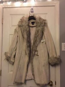 Never used fur winter jacket