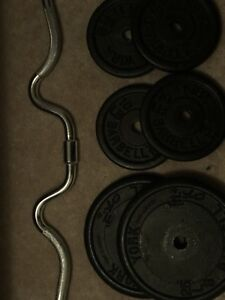 Sellings weight + bar